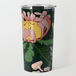 Magical flowers of Lamiak Travel Mug