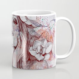 The Withering Spring I : Wine   nude tattoo woman portrait Coffee Mug