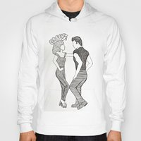 grease Hoodies featuring Grease  by Claire Coleman