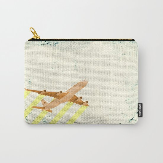 plane - let me fly away Carry-All Pouch