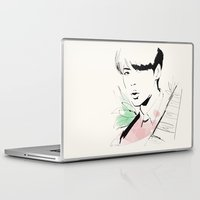 exo Laptop & iPad Skins featuring Love Me Right - Sehun by putemphasis
