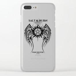 Salt & Burn Clear iPhone Case