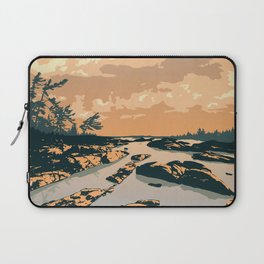 The Massasauga Park Poster Laptop Sleeve