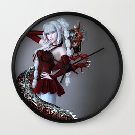 Roter Drache Wall Clock