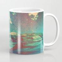 atlas Mugs featuring Atlas by Daniel Montero