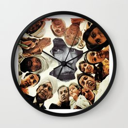 Watch Your Back Wall Clock