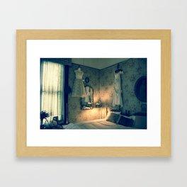 Top O Woodland Framed Art Print