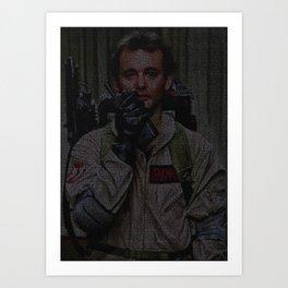 Venkman: Ghostbusters Screenplay Print Art Print
