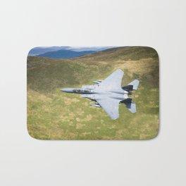 Low Flying F-15E Strike Eagle Bath Mat