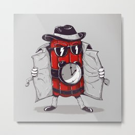 what time is it? it's time to explode Metal Print