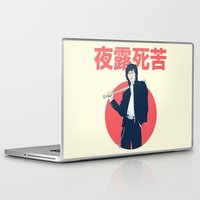 league Laptop & iPad Skins featuring Minor League by WITHSTAND