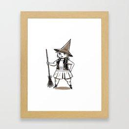 Witchster Framed Art Print