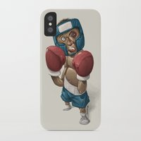 ali iPhone & iPod Cases featuring Ali by clogtwo