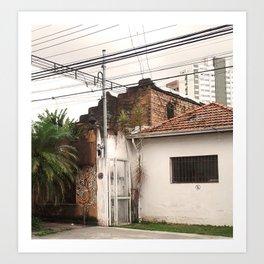 Sao Paulo 2 Art Print