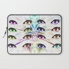 Moody Eyes Laptop Sleeve