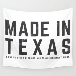 Made in Texas Wall Tapestry