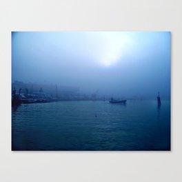 Feel the Blue's Canvas Print