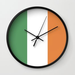 Ireland: Irish Flag Wall Clock