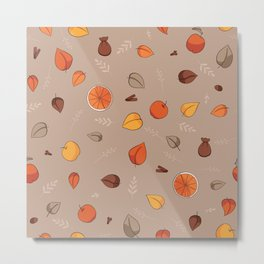 Apple spice ( Caramel mocha) Metal Print