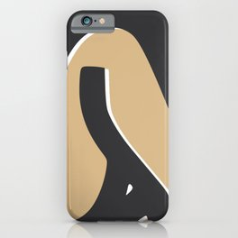 Summer tanned nude iPhone Case
