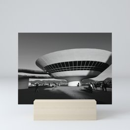 MAC Niterói | Oscar Niemeyer architect Mini Art Print