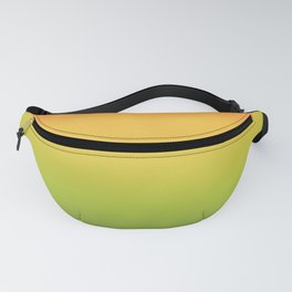Abstract Colorful Tropical Blurred Gradient Fanny Pack