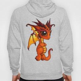 Baby Orange Dragon Hoody