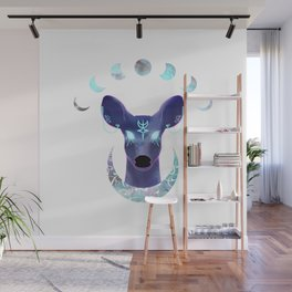 The Moon and the Doe Wall Mural