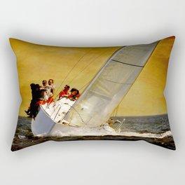 sailboat Rectangular Pillow