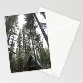 A Frame Cabin Stationery Cards