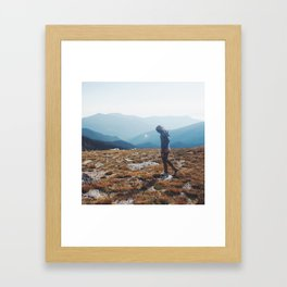 Obscure Sorrows Framed Art Print