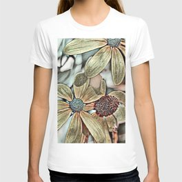 Toony World Floral 1 T-shirt