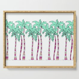 Palm Trees Serving Tray