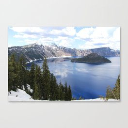 Great Heights-Crater Lake, Oregon Canvas Print
