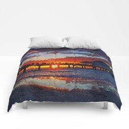 Pier 60, Clearwater Beach Comforters