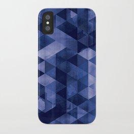 Blue Geo iPhone Case