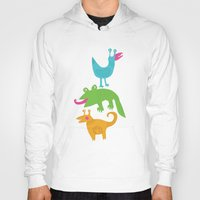 monsters Hoodies featuring monsters by LOLIA-LOVA