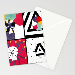 Feels Like We Only Go Backwards Stationery Cards
