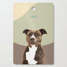 Dog Breeds_Pit bull. Cutting Board