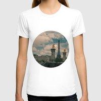 eiffel T-shirts featuring Eiffel by Esteban Calderón