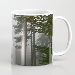 Fog in the forest Coffee Mug