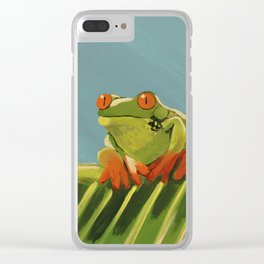 The Lonely Prince Clear iPhone Case