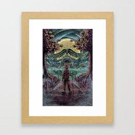 Secret Passage Framed Art Print