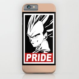 Vegeta pride iPhone Case