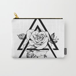 Gometric rose Carry-All Pouch