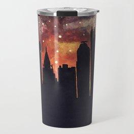 Starry Night in Pittsburgh Travel Mug