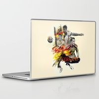 germany Laptop & iPad Skins featuring Germany by Rose's Creation