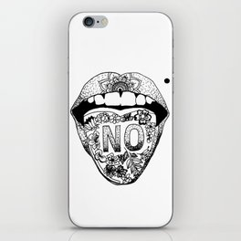 SAY NO iPhone Skin