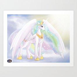 Shimmering Sunlight Art Print