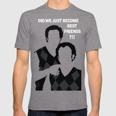 Step Brothers Mens Fitted Tee X-LARGE Tri-Grey